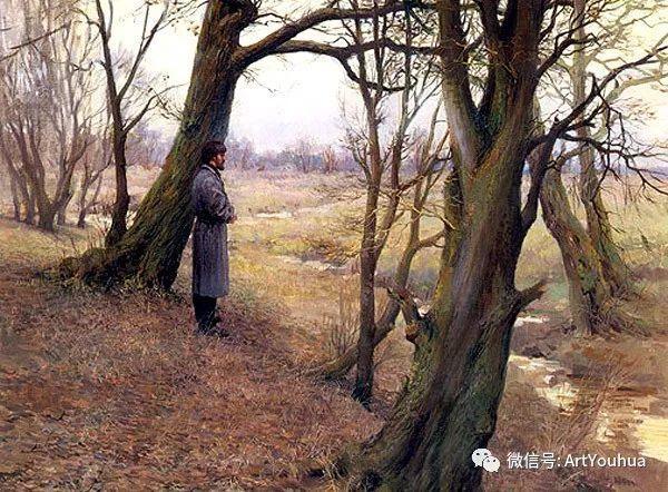 风景油画 俄罗斯Картины Марии Вишняк作品欣赏插图47