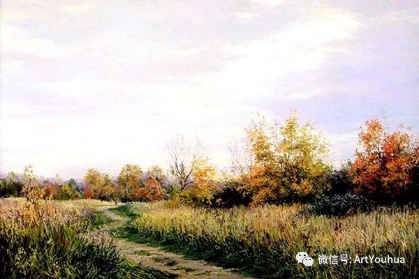 风景油画 俄罗斯Картины Марии Вишняк作品欣赏插图61