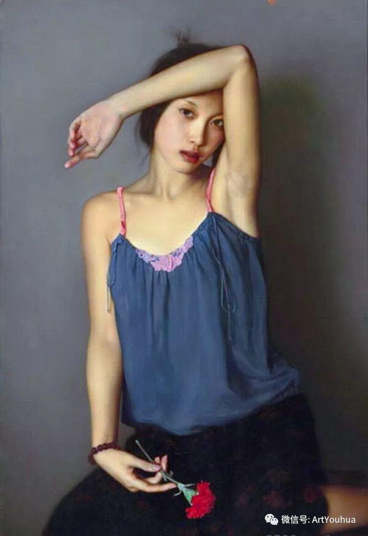 人物油画  李贵君作品欣赏插图45