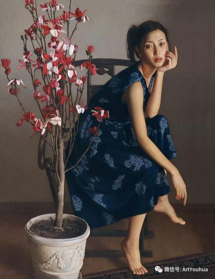 人物油画  李贵君作品欣赏插图47