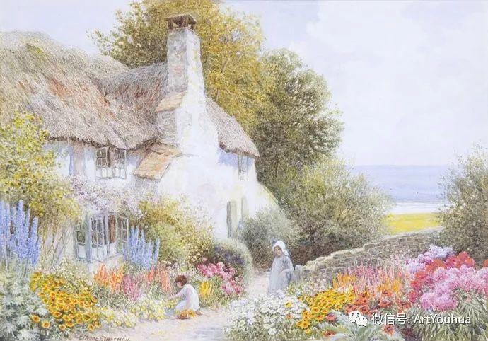 风景 英国画家Arthur Claude Strachan插图3