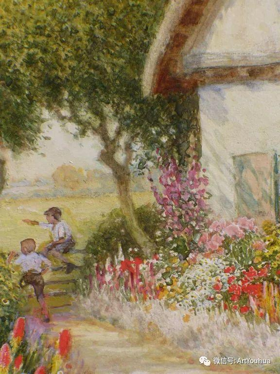 风景 英国画家Arthur Claude Strachan插图5