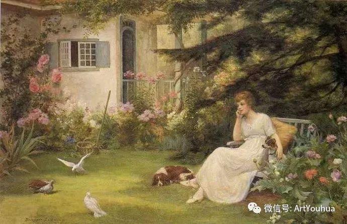 风景 英国画家Arthur Claude Strachan插图7
