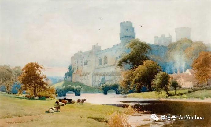 风景 英国画家Arthur Claude Strachan插图19