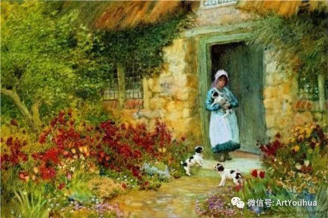 风景 英国画家Arthur Claude Strachan插图21