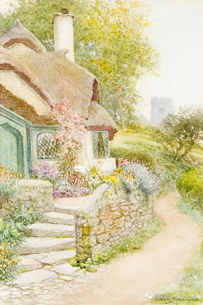 风景 英国画家Arthur Claude Strachan插图27