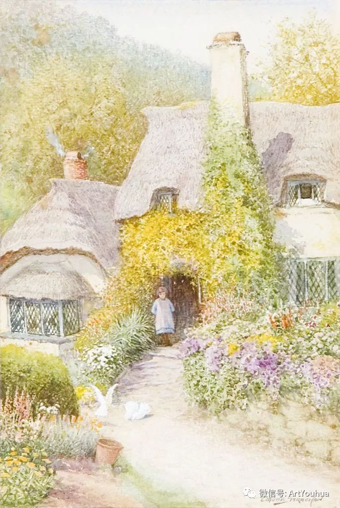风景 英国画家Arthur Claude Strachan插图29