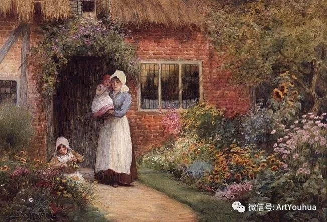 风景 英国画家Arthur Claude Strachan插图33