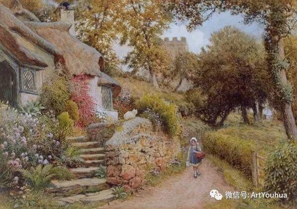 风景 英国画家Arthur Claude Strachan插图45