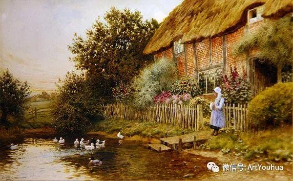 风景 英国画家Arthur Claude Strachan插图47
