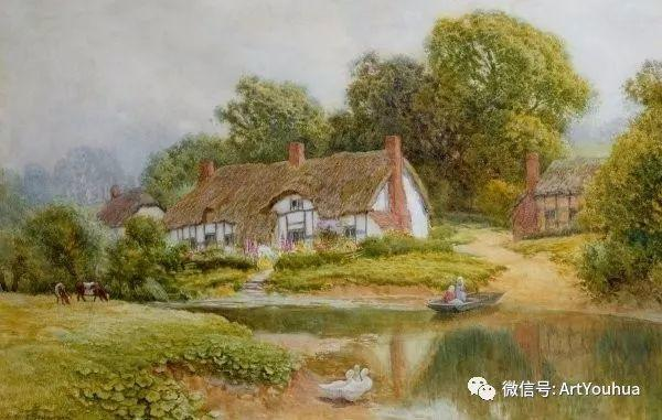 风景 英国画家Arthur Claude Strachan插图49