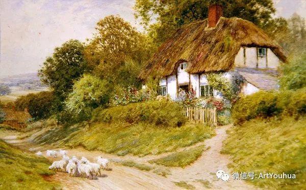 风景 英国画家Arthur Claude Strachan插图53