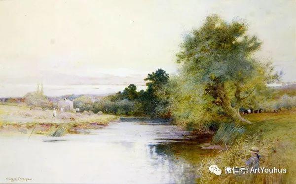 风景 英国画家Arthur Claude Strachan插图55
