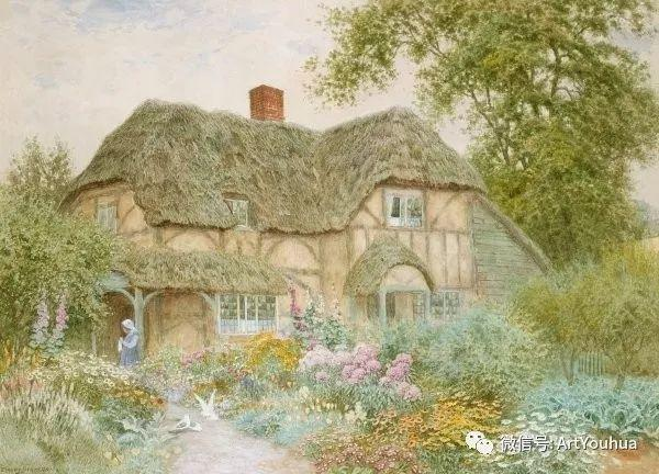 风景 英国画家Arthur Claude Strachan插图57