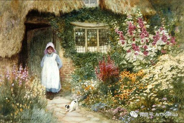 风景 英国画家Arthur Claude Strachan插图59
