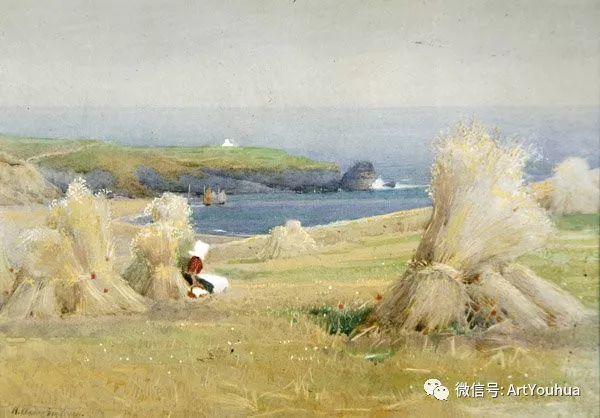 风景 英国画家Arthur Claude Strachan插图61