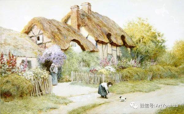 风景 英国画家Arthur Claude Strachan插图63