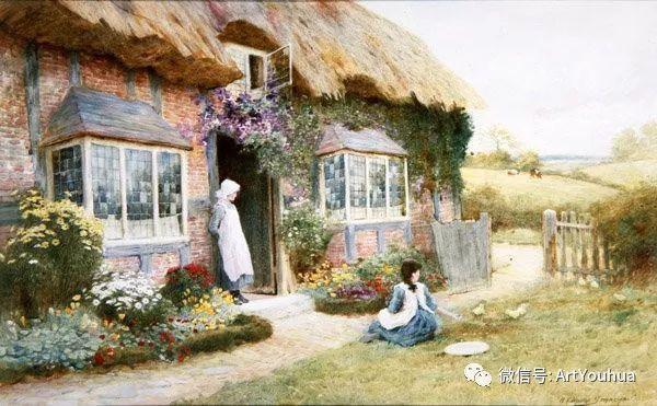 风景 英国画家Arthur Claude Strachan插图67