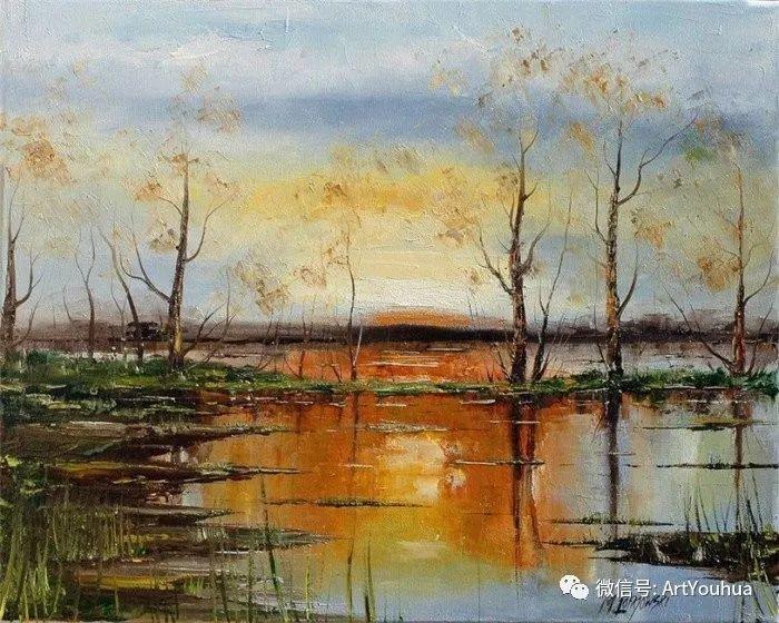 风景油画 波兰Marek Langowski插图11