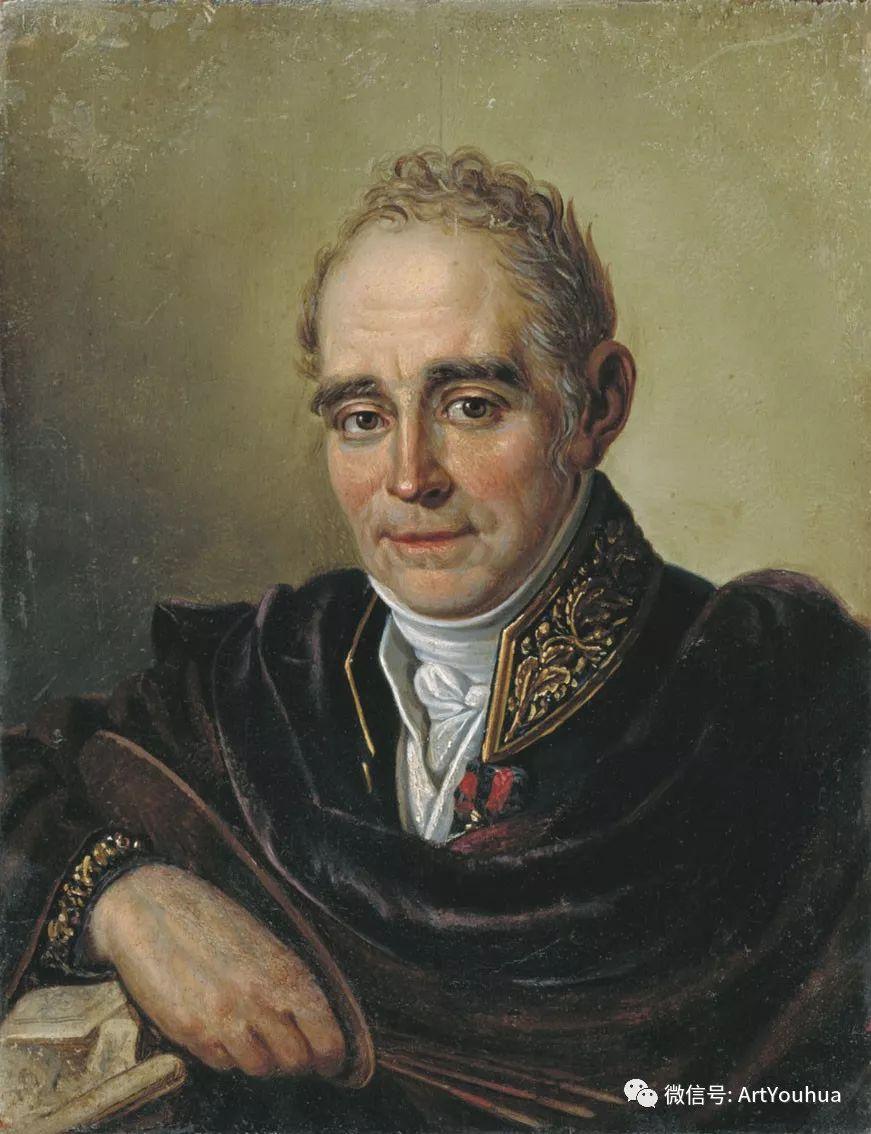 精美古典人物 俄罗斯画家Vladimir Borovikovsky插图1