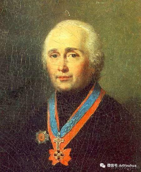 精美古典人物 俄罗斯画家Vladimir Borovikovsky插图19