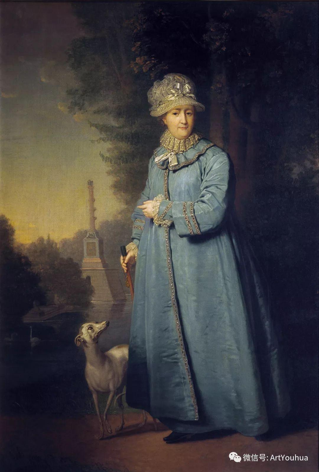 精美古典人物 俄罗斯画家Vladimir Borovikovsky插图27