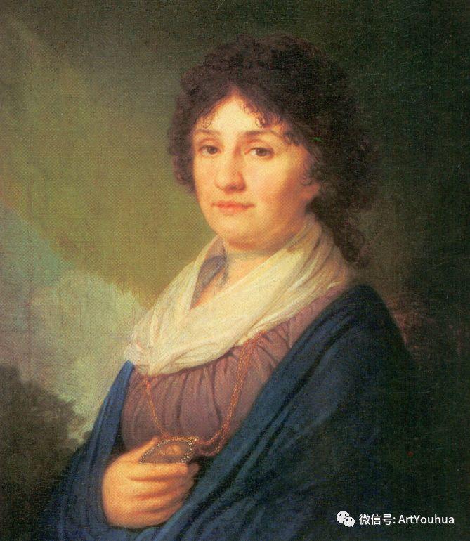 精美古典人物 俄罗斯画家Vladimir Borovikovsky插图39