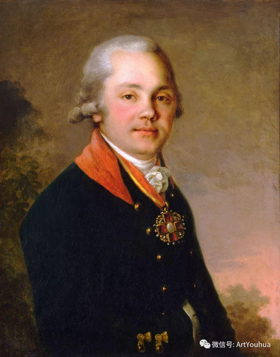 精美古典人物 俄罗斯画家Vladimir Borovikovsky插图49