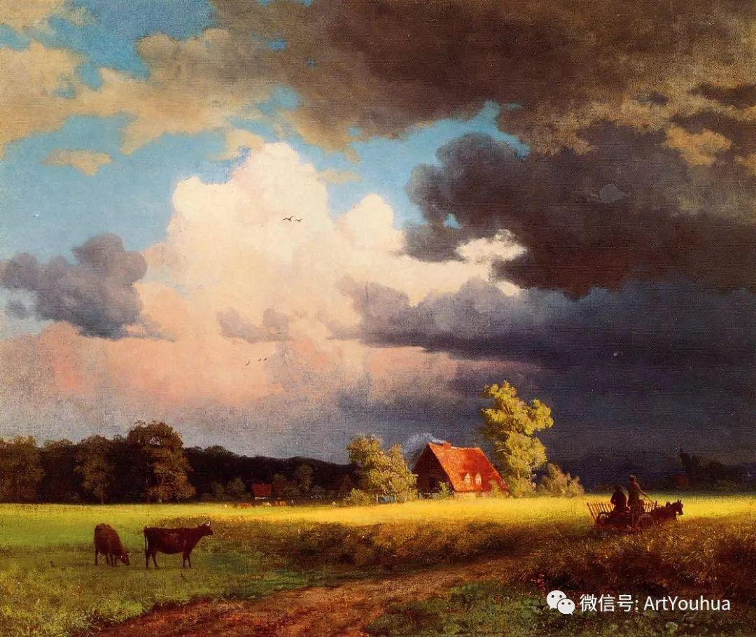 哈德逊河派 美国画家Albert Bierstadt插图3