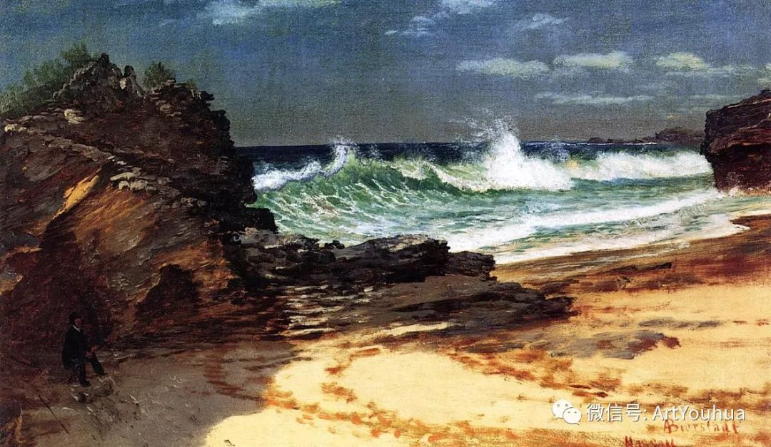 哈德逊河派 美国画家Albert Bierstadt插图5