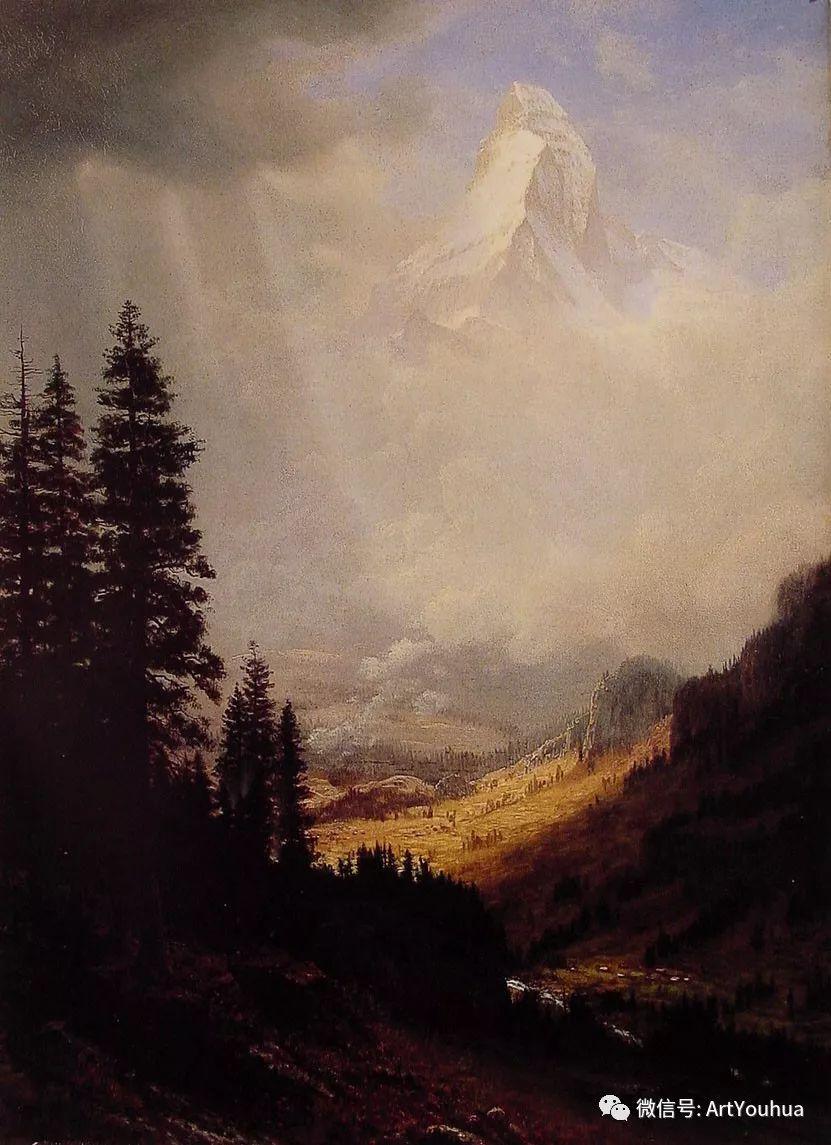 哈德逊河派 美国画家Albert Bierstadt插图7