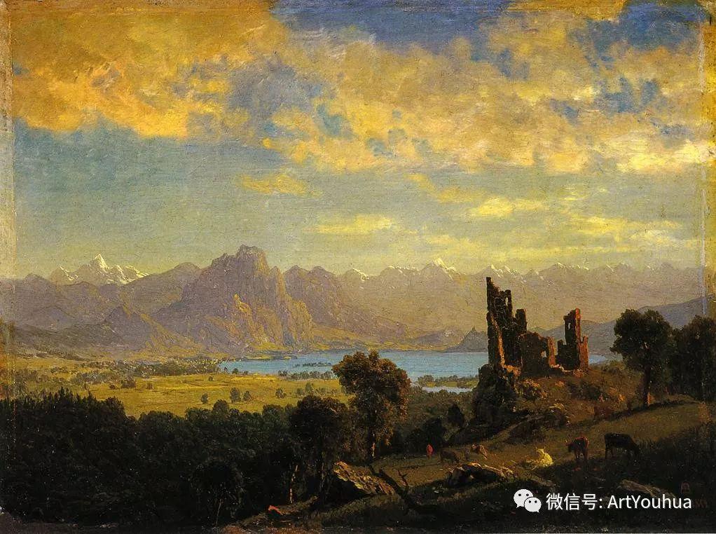 哈德逊河派 美国画家Albert Bierstadt插图11