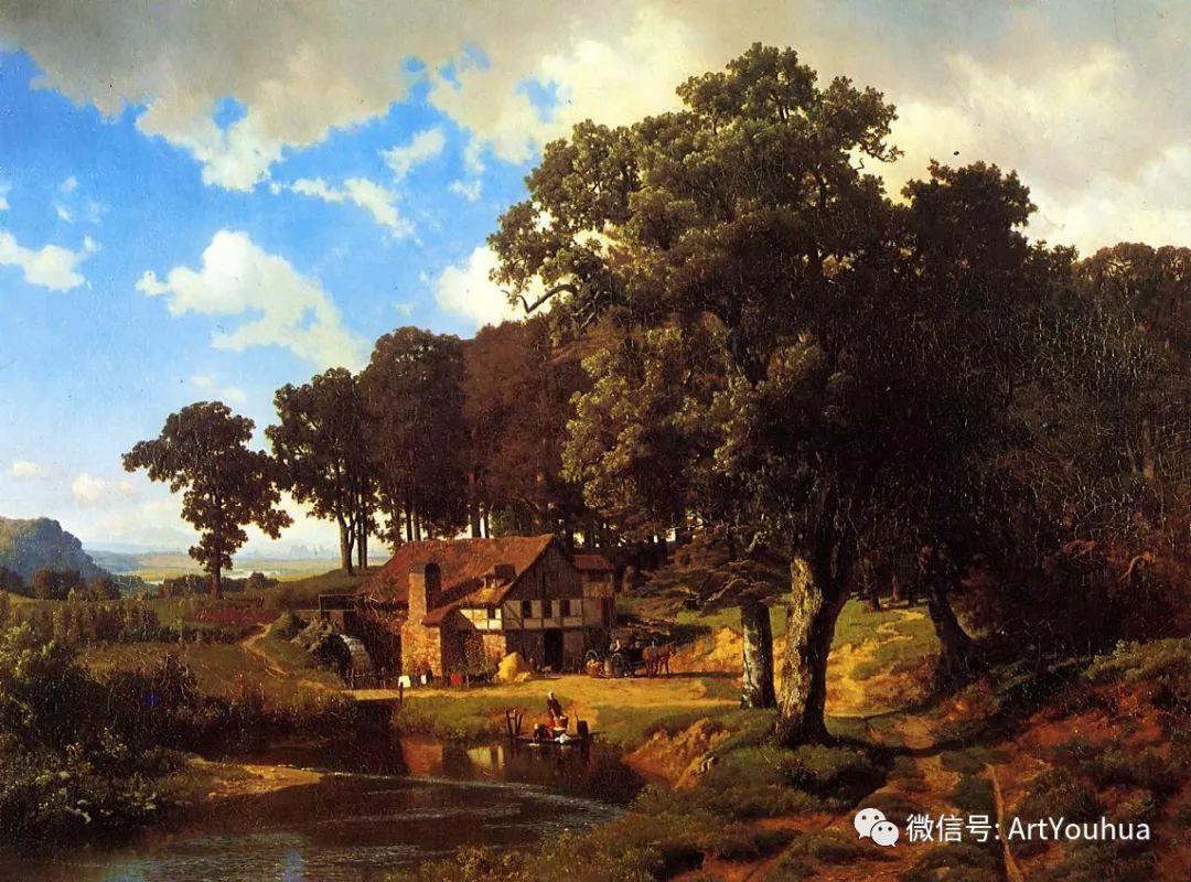 哈德逊河派 美国画家Albert Bierstadt插图13
