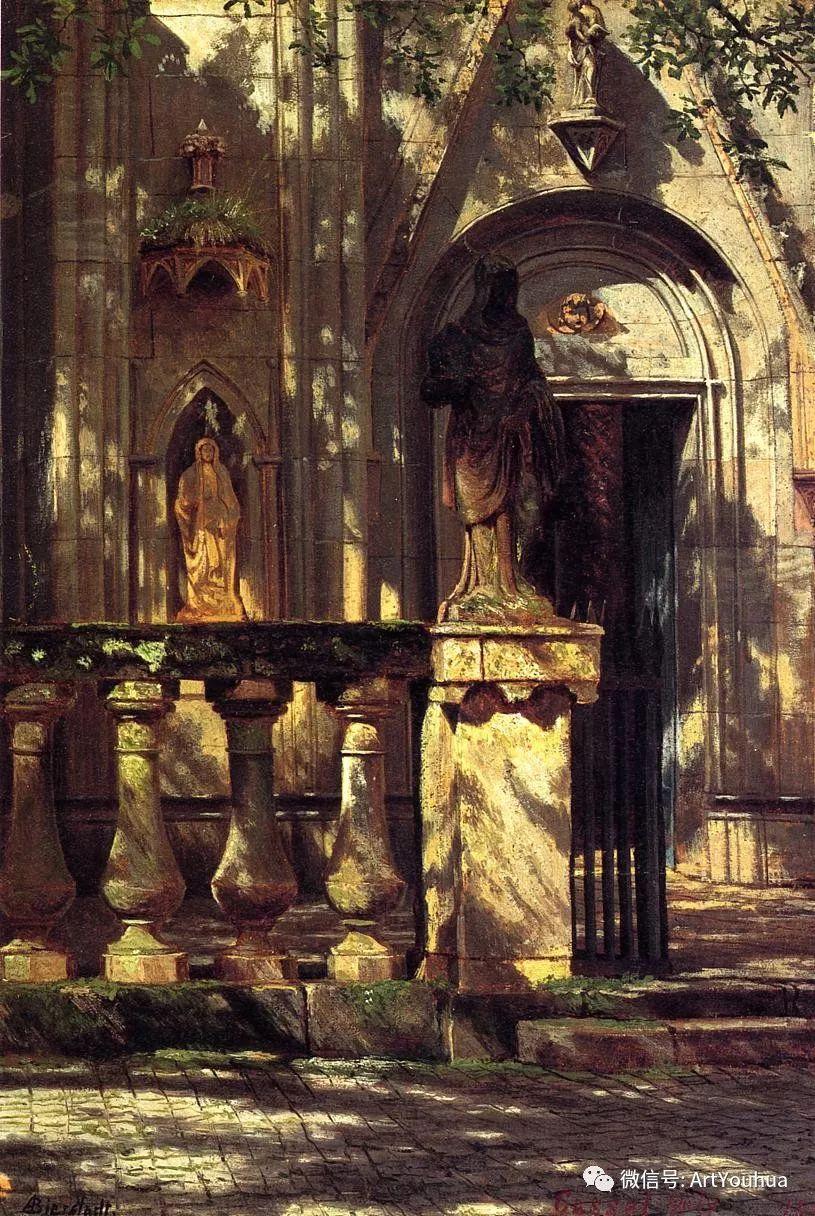 哈德逊河派 美国画家Albert Bierstadt插图15