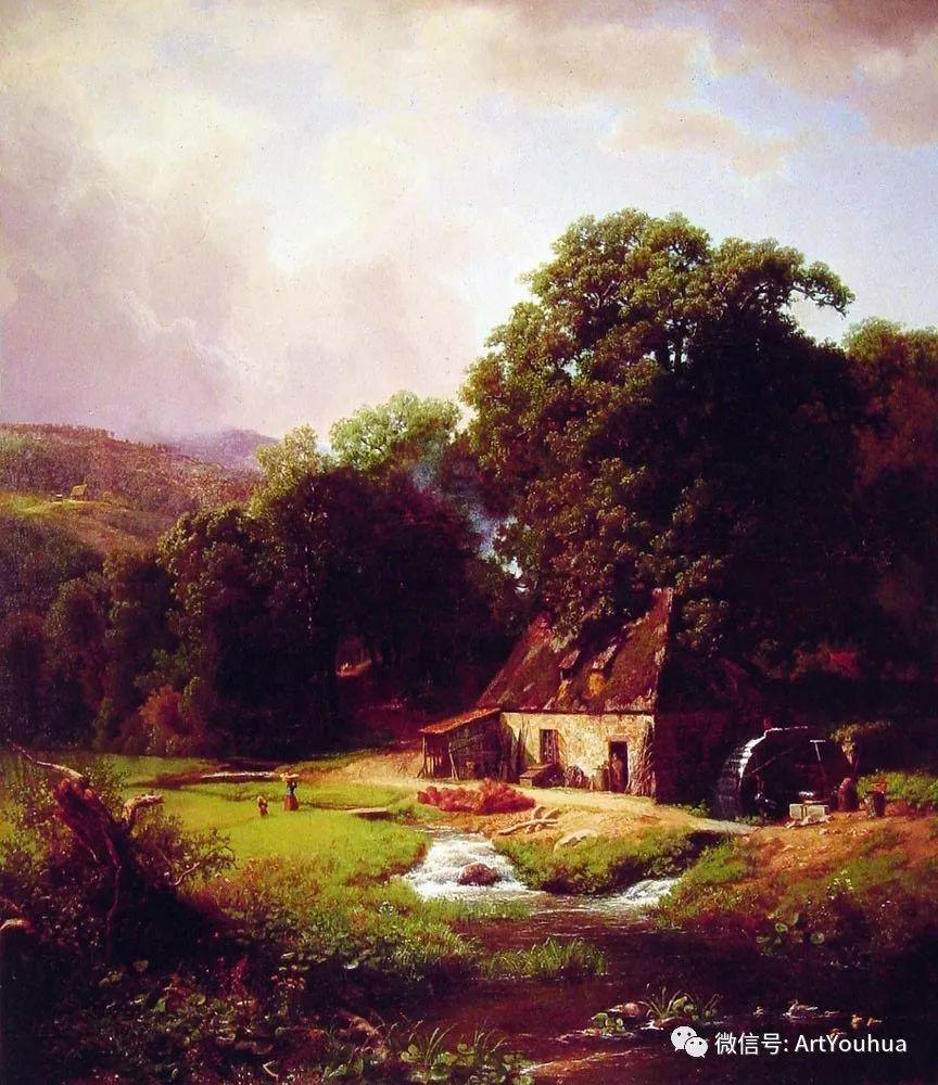哈德逊河派 美国画家Albert Bierstadt插图17