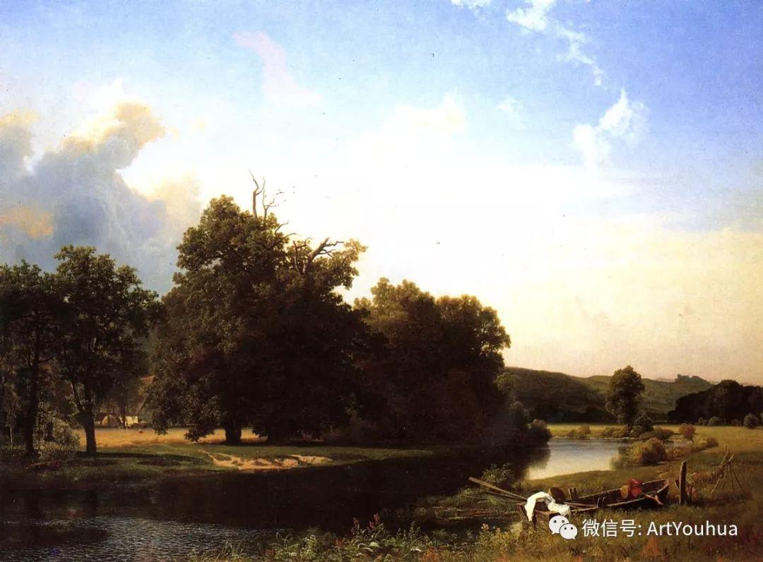 哈德逊河派 美国画家Albert Bierstadt插图19
