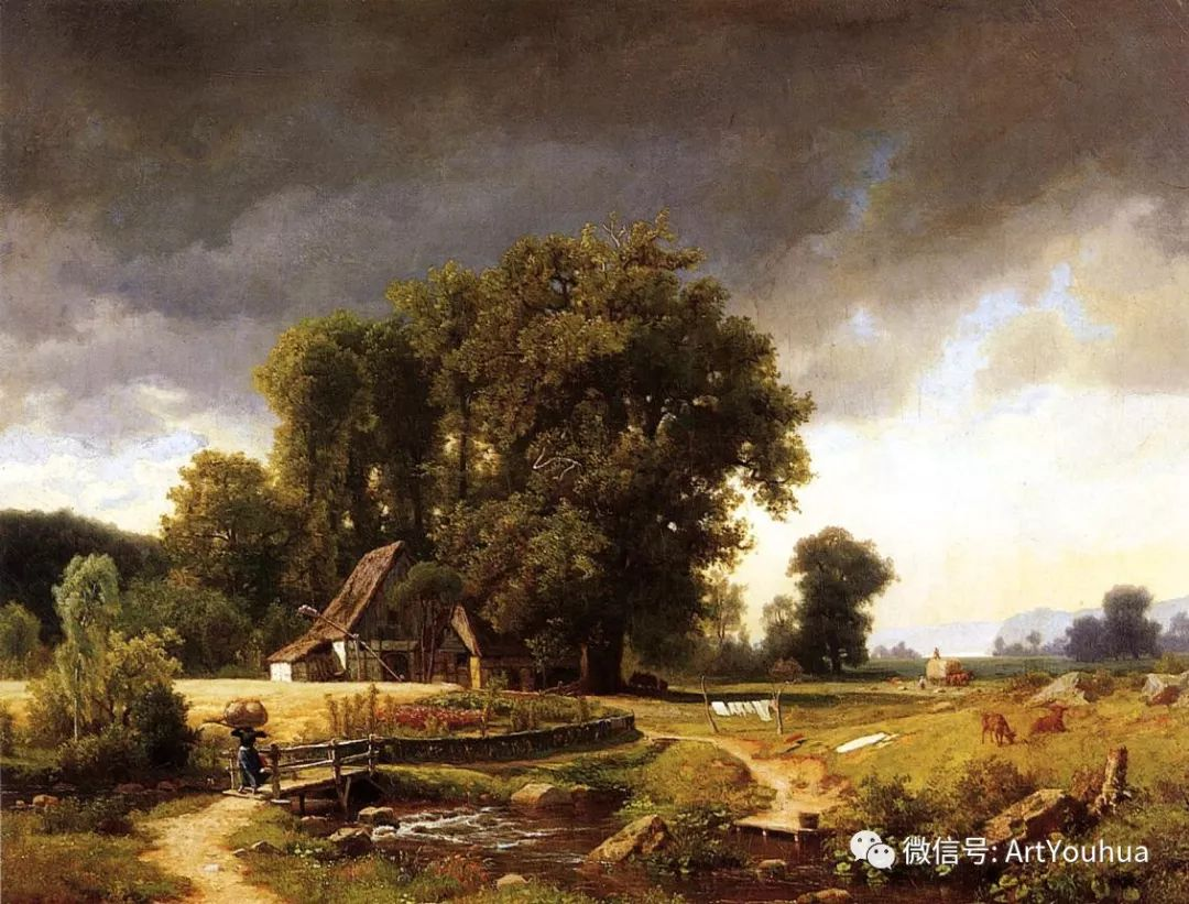 哈德逊河派 美国画家Albert Bierstadt插图21