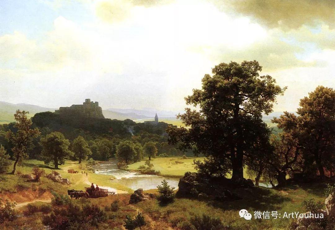 哈德逊河派 美国画家Albert Bierstadt插图23