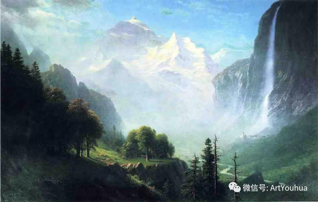 哈德逊河派 美国画家Albert Bierstadt插图25
