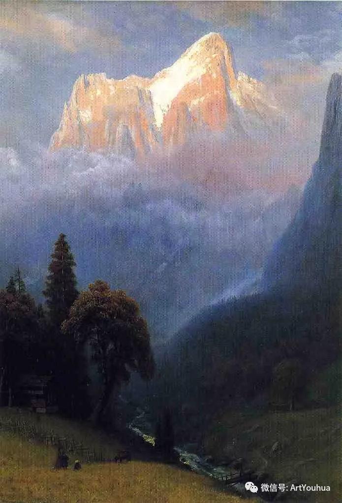 哈德逊河派 美国画家Albert Bierstadt插图27
