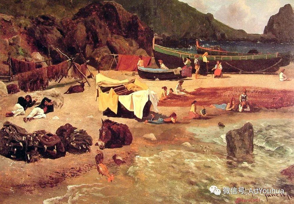 哈德逊河派 美国画家Albert Bierstadt插图31