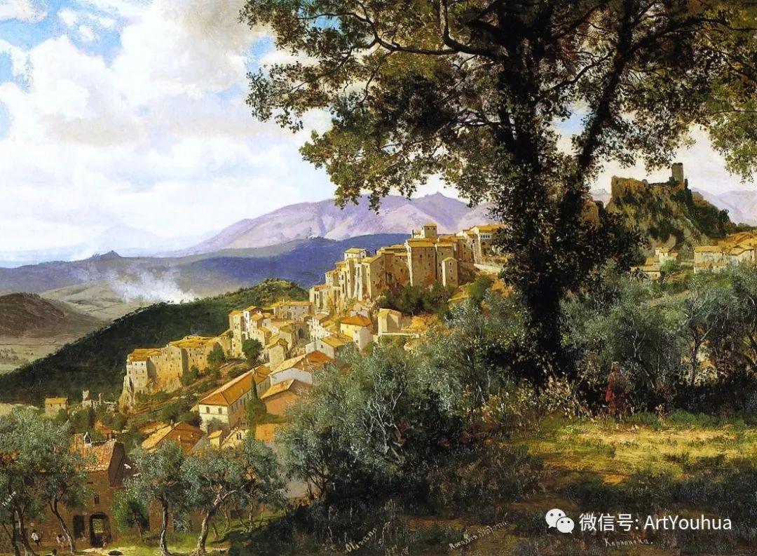 哈德逊河派 美国画家Albert Bierstadt插图33