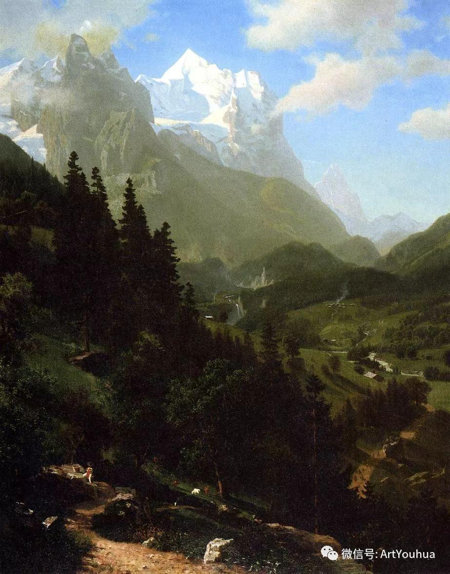 哈德逊河派 美国画家Albert Bierstadt插图35