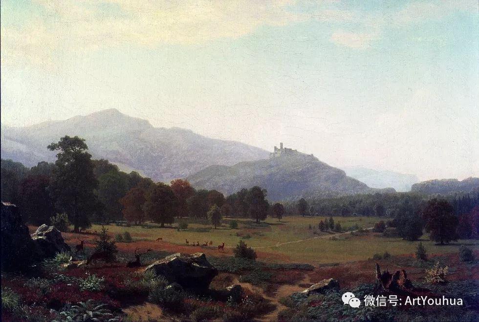 哈德逊河派 美国画家Albert Bierstadt插图37