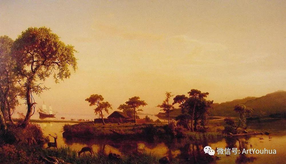 哈德逊河派 美国画家Albert Bierstadt插图39