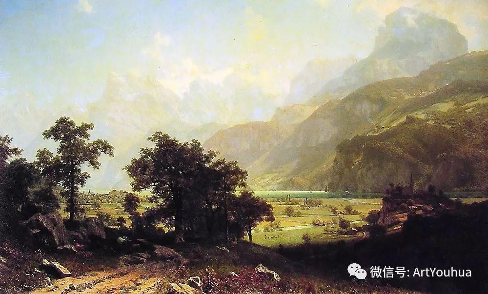 哈德逊河派 美国画家Albert Bierstadt插图41