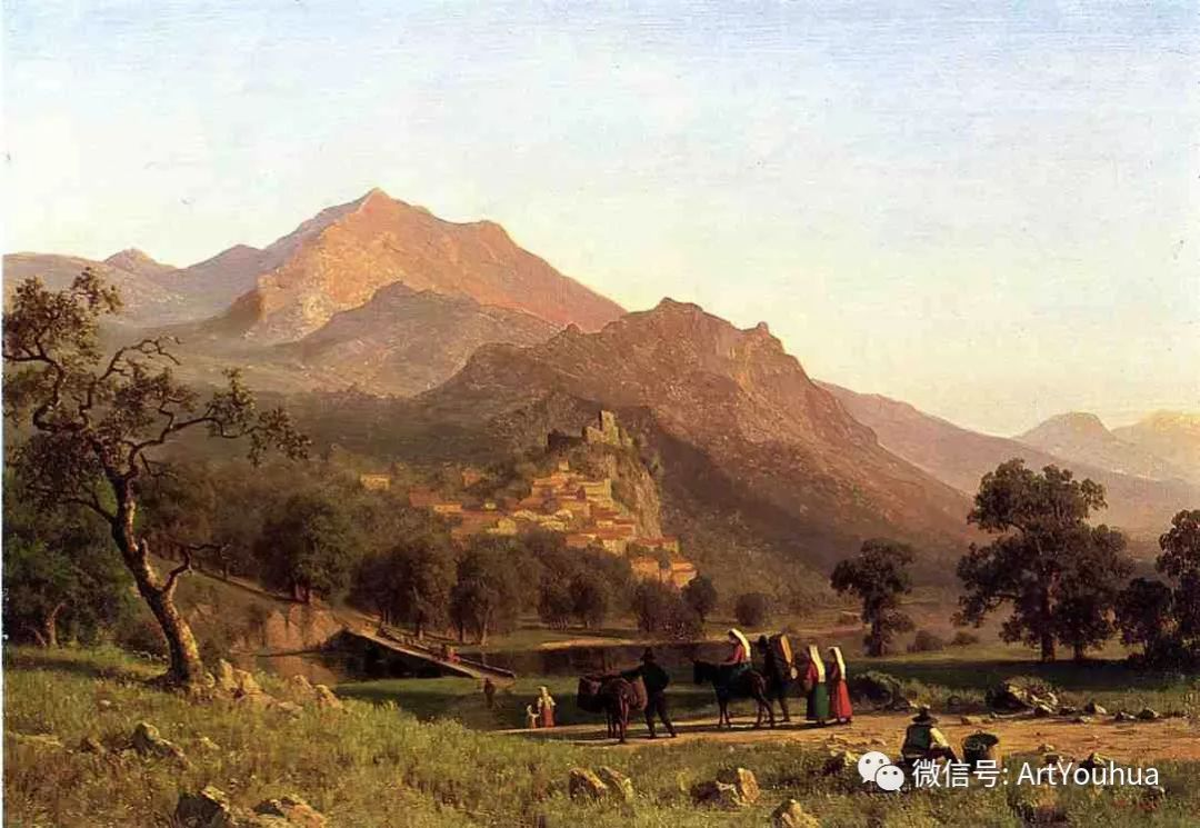 哈德逊河派 美国画家Albert Bierstadt插图45