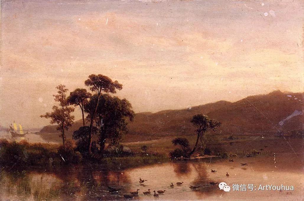 哈德逊河派 美国画家Albert Bierstadt插图47
