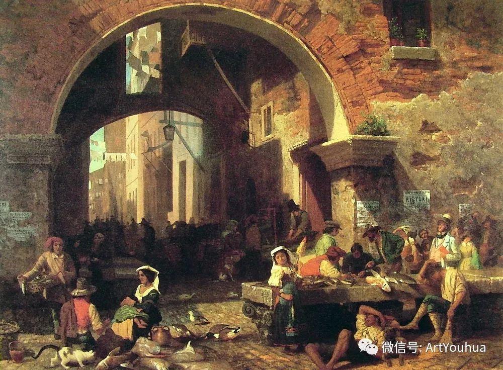 哈德逊河派 美国画家Albert Bierstadt插图49