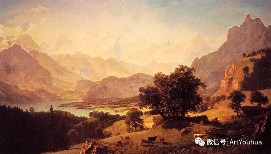 哈德逊河派 美国画家Albert Bierstadt插图51